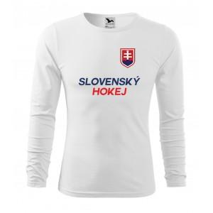 Slovenské hokejové tričká s dlhým rukávom