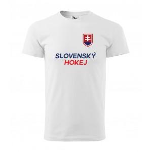 Pánske tričko s krátkym rukávom na MS 2019 na Slovensku