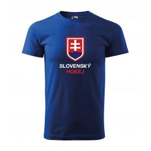 Pánske tričko s logom národného hokejového tímu