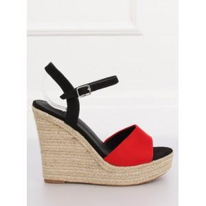 Originálne dvojfarebné dámske sandále na leto