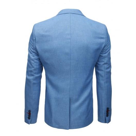 Pánske sako v modrej farbe