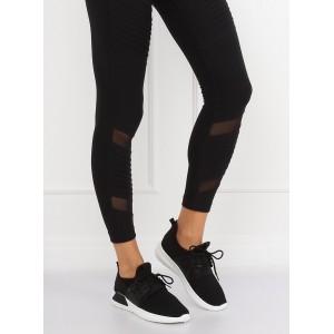 Štýlové čierne dámske tenisky