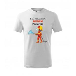 Bavlnené chlapčenské tričko vhodné ako darček k MDD