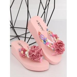 425e070e2d Štýlové dámske chlpaté šľapky ružovej farby - fashionday.eu