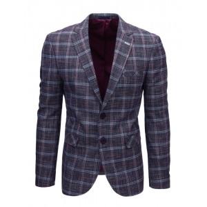 Pánske kockované pestrofarebné sako