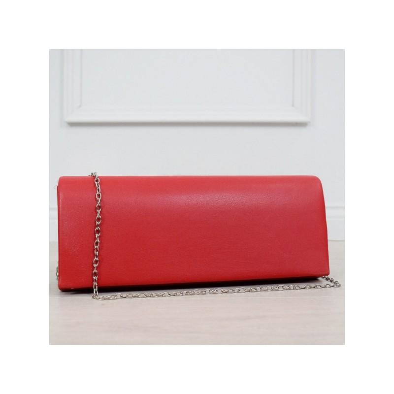 d1a958cb0c Originálna dámska červená kabelka do spoločnosti