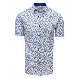 Luxusná pánska letná košeľa s krátkym rukávom