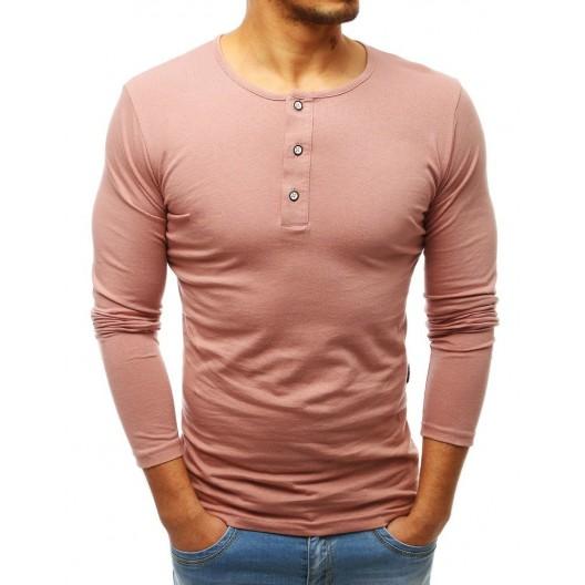 Trendový pánsky nátelník ružovej farby