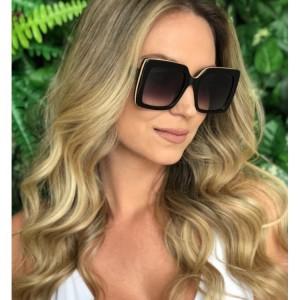 Štýlové matné dámske slnečné okuliare