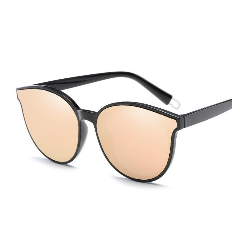 081978a76 Čierne zrkadlové slnečné okuliare pre dámy