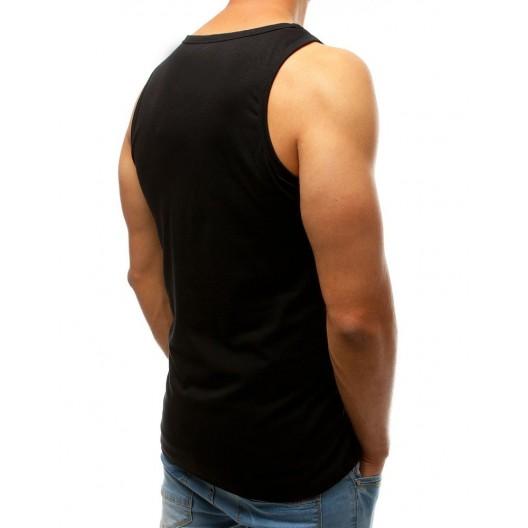 Pánske tričko bez rukávov s potlačou