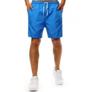Trendy svetlo modré pánske plavky so sťahujúcou šnúrkou v páse
