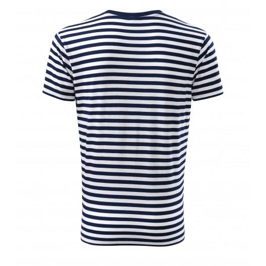 Bavlnené pruhované tričko pre pánov
