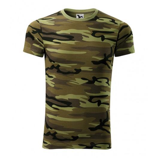Army tričko v zelenej farbe pre pánov