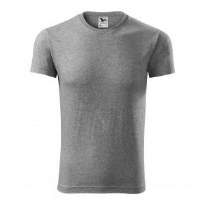 Bavlnené pánske tričká v sivej farbe