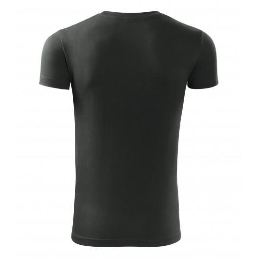 Pánske tričko v čiernej farbe s krátkym rukávom
