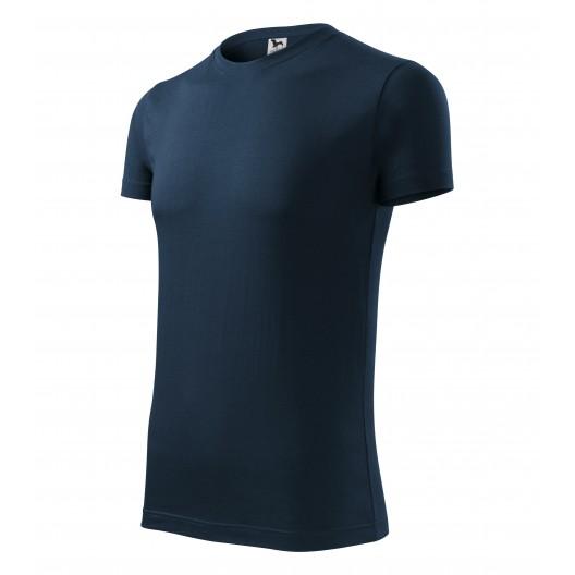 Tmavé tričko v modrej farbe pre pánov