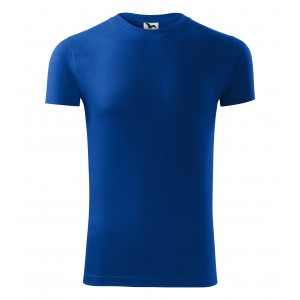 Tričko s krátkym rukávom v modrej farbe