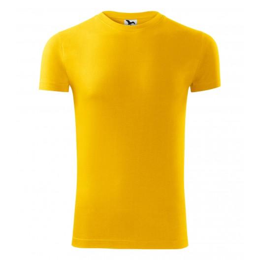 Žlté tričko s krátkym rukávom pre pánov