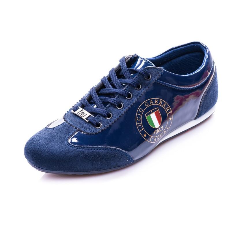 Pánske športové topánky modrej farby vhodné do každého počasia ... 20e82787527