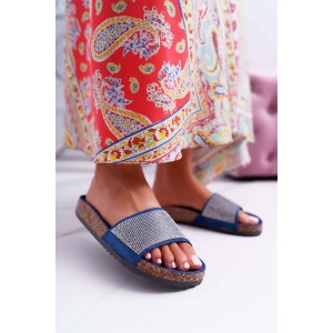Dámske kamienkové papuče