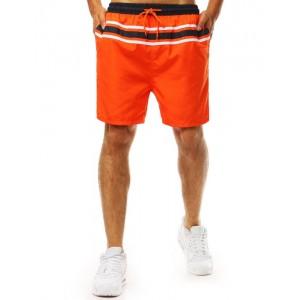Pánske plavky v oranžovej farbe