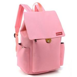 Športový ruksak do školy v ružovej farbe