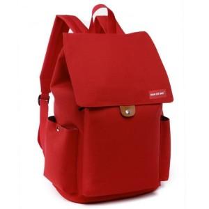 Športový ruksak v červenej farbe