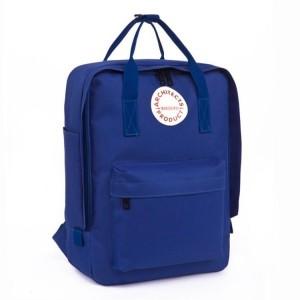 Elegantný ruksak v modrej farbe do školy