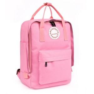 Dievčenský ruksak na chrbát v ružovej farbe