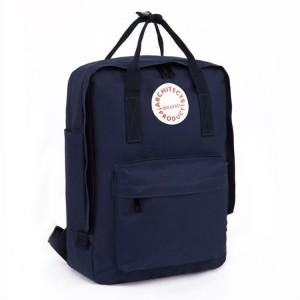 Trendy dámsky batoh v modrej farbe