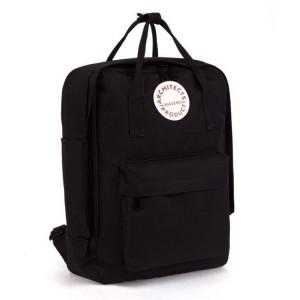 Dámsky ruksak na ramená v čiernej farbe