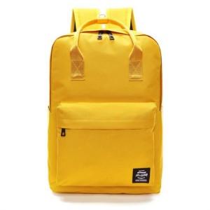 Športový batoh dámsky v žltej farbe