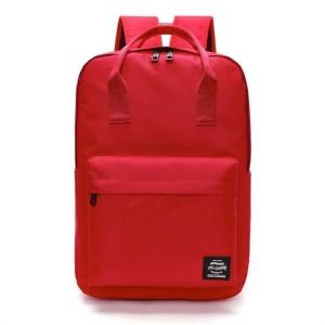 Športový ruksak pre ženy v červenej farbe