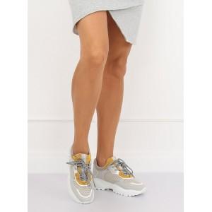 Sivé dámske tenisky