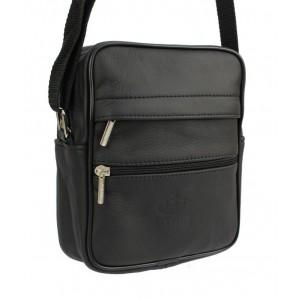 Pánska taška do práce v čiernej farbe