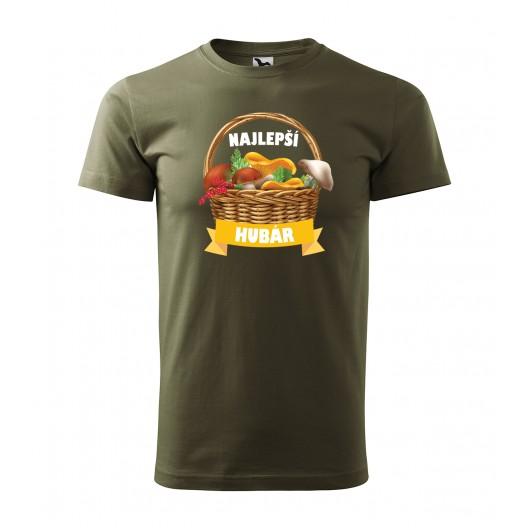 Štýlové pánske tričko s potlačou pre najlepšieho hubára