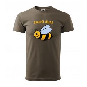 Pánske tričko s potlačou pre včelára
