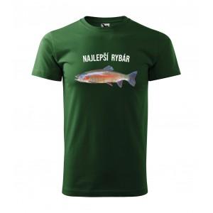 Pánske rybárske tričko s krátkym rukávom