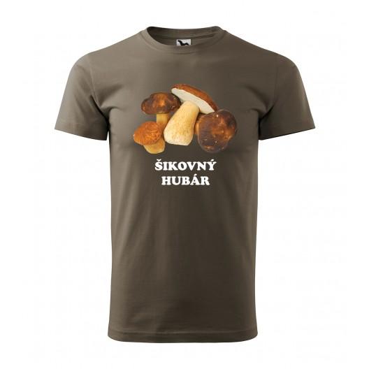 Pánske tričko pre hubára