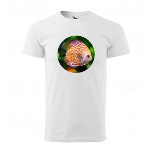 Moderné pánske tričko s potlačou