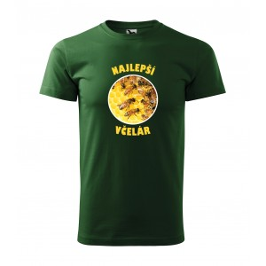 Pánske včelárske tričko s potlačou