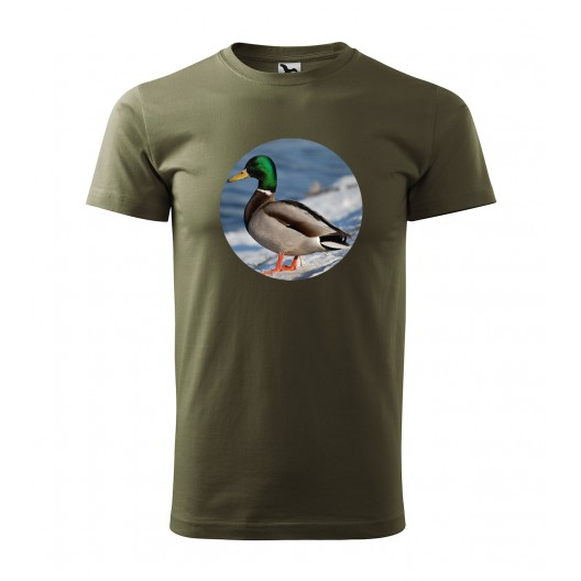 Pánske tričko s potlačou kačky