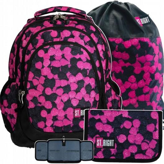 Detský ruksak do školy pre dievčatá s peračníkom