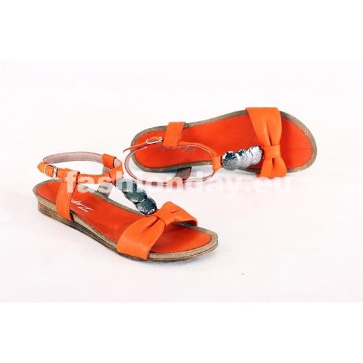 Dámske sandále tekvicové