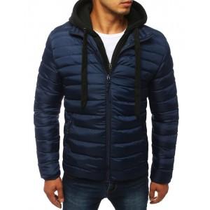 Jednoduchá pánska bunda bez kapucne