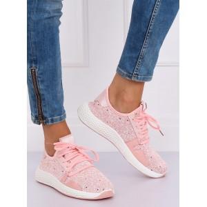 Vzdušné a pohodlné dámske tenisky ružovej farby