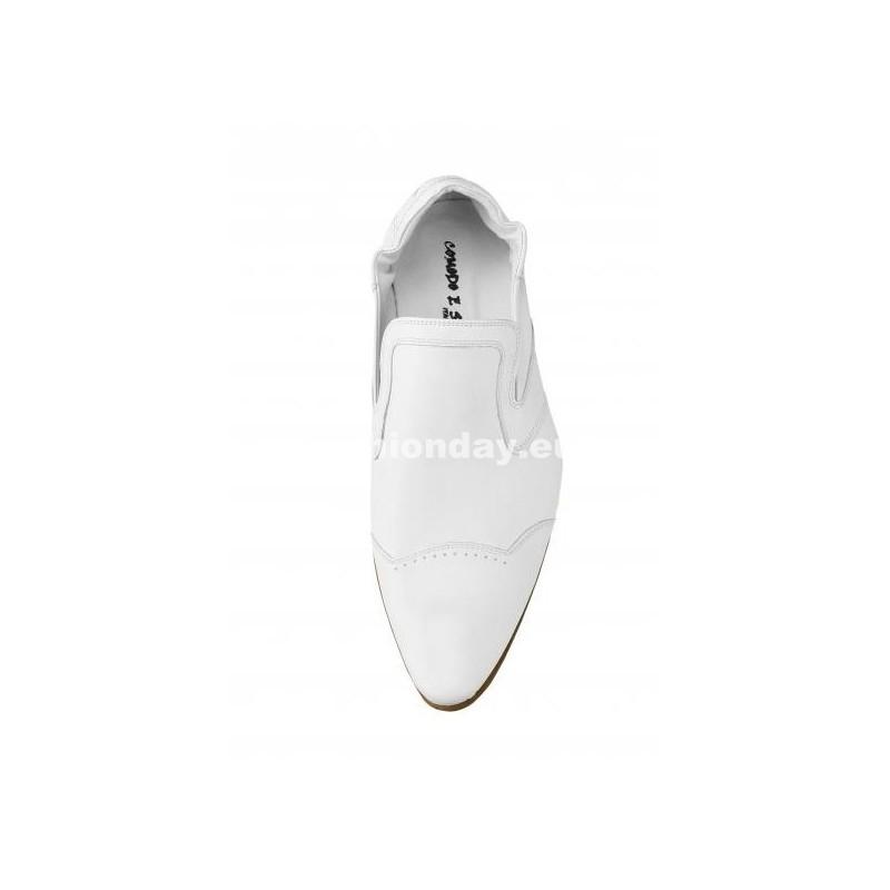 Pánske mokasíny biele - fashionday.eu 3e591b25ebc