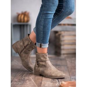 Štýlové dámske kotníkové topánky