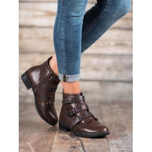 Štýlové dámske členkové topánky